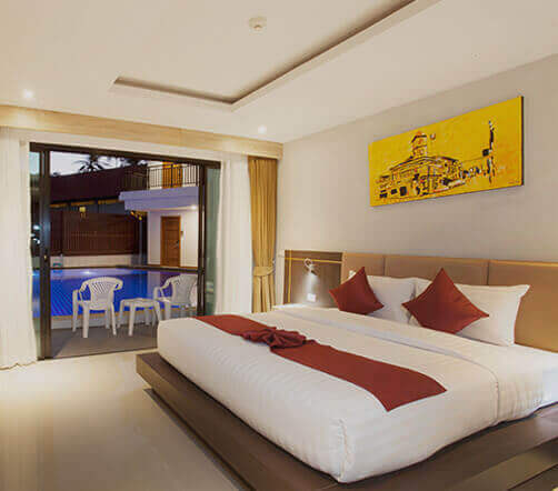 Room suite at Paripas Patong Phuket